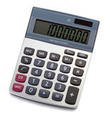 Digital calculator — Stock fotografie
