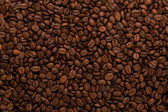 Kaffebönor bakgrund — Stockfoto