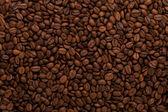 Kávová zrna pozadí — Stock fotografie
