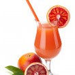 Red orange juice — Stock Photo #6021066