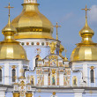 St. Michael's Golden-Domed Monastery in Kiev, Ukraine — Lizenzfreies Foto