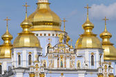 St. Michael's Golden-Domed Monastery in Kiev, Ukraine — Foto Stock