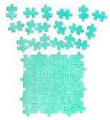 ジグソー パズルの背景 — ストック写真