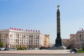 Victory Monument at the Victory Square in Minsk, Belarus — Stock Photo