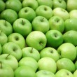Stock Photo: Green apples