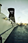 Ferryboat deck — Stockfoto
