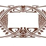Ramen art nouveau — Stock Vector #6692380