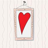 Valentine-Bild — Stock Vector