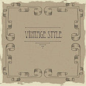 Vintage Rahmen — Stock Vector