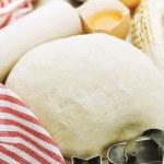 Baking cookies — Stock Photo