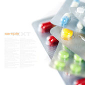 Different Pills — Stock Photo