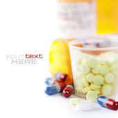 Assorted pills — Stock Photo