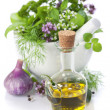 Healing herbs - Stock Photo