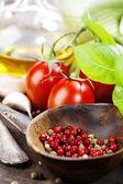 Fresh organic vegetables — Stock Photo