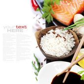 Traditional asian ingredients — Stok fotoğraf