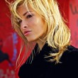 Attractive blond woman in downtown. — Stock Photo #6524932