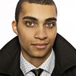 Attractive young mulatto. Business style. — Stock Photo #6524953