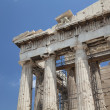 The Temple of Athena at the Acropolis — Stock Photo #6134171