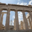 The Temple of Athena at the Acropolis — Stock Photo #6134212