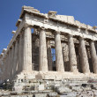 The Temple of Athena at the Acropolis — Stock Photo