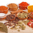 Spices and herbs — Stock Photo #5843091