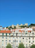 Sao Jorge Castle in Lisbon, Portugal — Stock Photo
