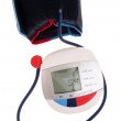 Blood pressure meter - Stock Photo