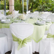 Wedding table — Stock Photo #6141898