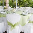 Stockfoto: Wedding table