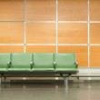 Aiport Seats — Stock Photo
