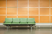 Flughafen sitze — Stockfoto