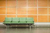 Havaalanına koltuk — Stok fotoğraf