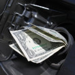 Gas money - Stock Photo