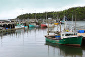 Fishing Boats in Chance Harbor, New Brunswick — Stock Photo