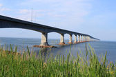 Confederation Bridge to Prince Edward Island — Stock Photo