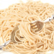Stock Photo: Cooked spaghetti