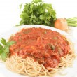 Royalty-Free Stock Photo: Spaghetti dinner