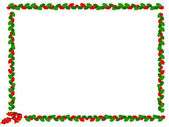 Christmas border — Foto Stock