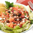 Stock Photo: Bean salad