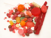 Candy pile — Stock Photo