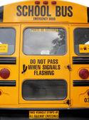 школьные автобусы — Стоковое фото