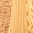 Whole grain pasta — Stock Photo