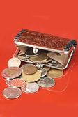 Money change purse — Stock Photo