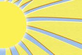 Sunshine illustration — Stock Photo