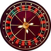 Grunge roulette wheel — Stock Vector