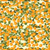 Naadloze sinaasappelen — Stockvector