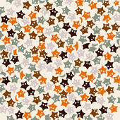 Starfish pattern — Stock Vector