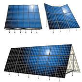 Energia alternativa — Vettoriale Stock