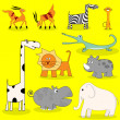 African wild animals - Stok fotoraf