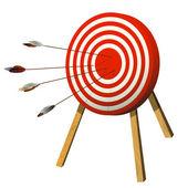 Target practice — Stock Vector